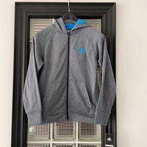 NWT Adidas Climawarm Full Zip Hoodie